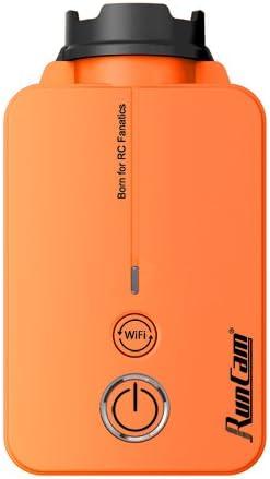 Runcam2 5 17 V 1080p 60 Fps 40 Ms Geringer Latenz Der Leichteste Fpv Hd Kamera Mit Wlan Orange Sport Freizeit