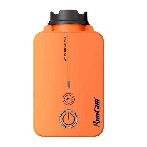 RunCam runcam25-17V 1080p 60FPS 40ms Faible Latence FPV caméra HD avec Wi-FI et Batterie Amovible Orange