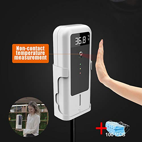 Fantastic Prices! DSVDAA Infrared Digital Temperature Gun Wall-Mounted Forehead Temperature Measurin...