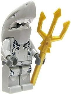 LEGO Minifigure - Atlantis - SHARK WARRIOR with Trident