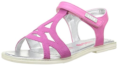 Asso 40740, Sandales Fille, Rose (Fuxia), 35