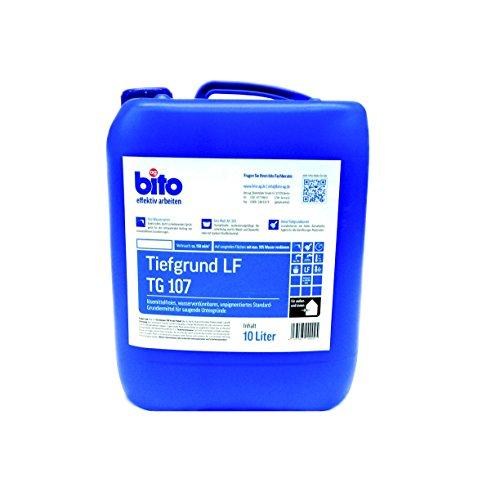 Profi Tiefgrund, 10 Liter, gebrauchsfertig, Universal-Grundierung für alle saugenden Untergründe innen und außen