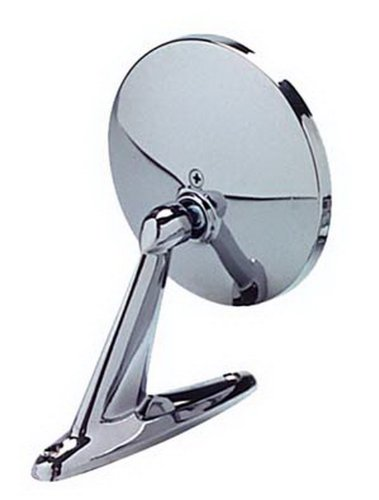 CIPA 17000 Universal Round Chrome Car Side -