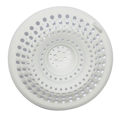 Excelity® Drain Protector Hair Catcher Drain Cover(White)