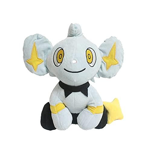 Peluche Pokemon Gato de Dibujos Animados Juguete de Felpa Luxio Evolution Shinx Luxray muñeco de Peluche Suave 25cm