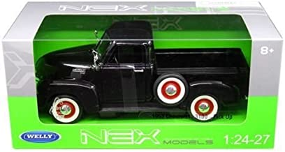 1953 Chevrolet 3100 Pick Up Truck Black 1/24-1/27 Diecast Model Car by Welly 22087