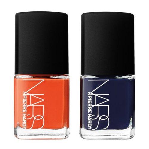 NARS Pierre Hardy Ethno Run Nail Polish Duo (1x Dark Blue, 1x Bright Orange) 2x15ml