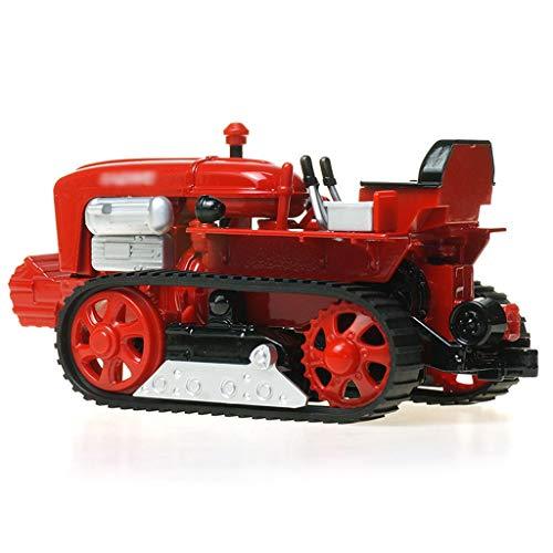LINGLING-JOUETS Modèle de Voiture Die-Casting modèle de Voiture en Alliage Voiture Ingénierie Voiture 1h18 échelle modèle de Voiture Crawler Tractor Enfant Boy Toy Cadeau for garçon Tout-Petit Enfant