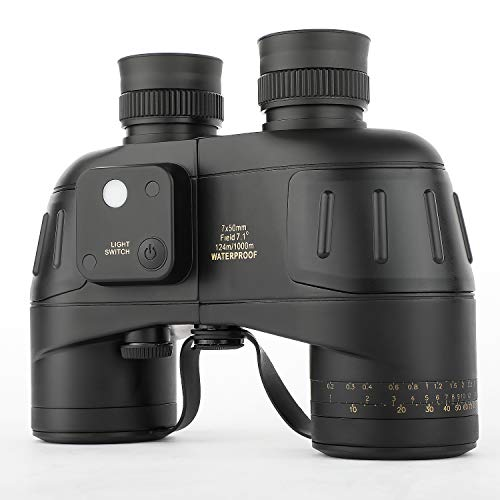 10x50 Military Binoculars for Adults, Waterproof Marine Binoculars with...