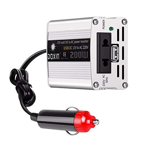 CCTV 200W 12V / 24V DC A CA 110V / 220V AUTOMO AUTOMÁTICO AUTOMÁTICO CONVERADOR CONVERTADOR Adaptador Adaptador USB Car-Styling CARGER CARGER Power Power 400W 24v to 110v