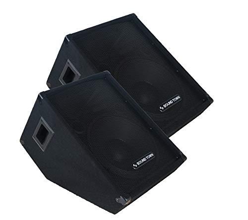 "Sound Town 2-Pack Callisto Series 12"" Passive Stage Monitor Speaker (CALLISTO-12M-PAIR)"
