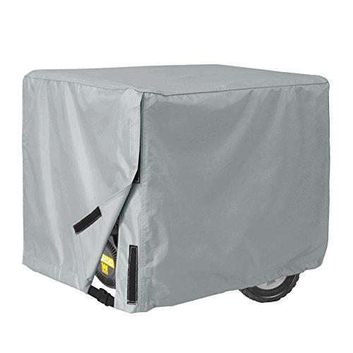Porch Shield Waterproof Universal Generator Cover 26 x 20 x 20 inch, for Most Generators 3000-5000 Watt, Gray