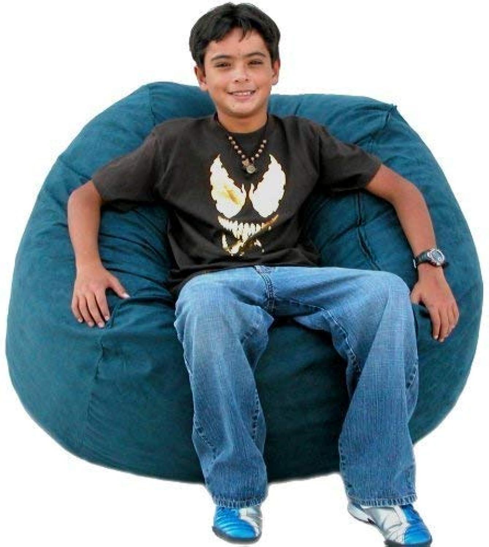 Cozy Sack 3-Feet Bean Bag Chair, Medium, Navy