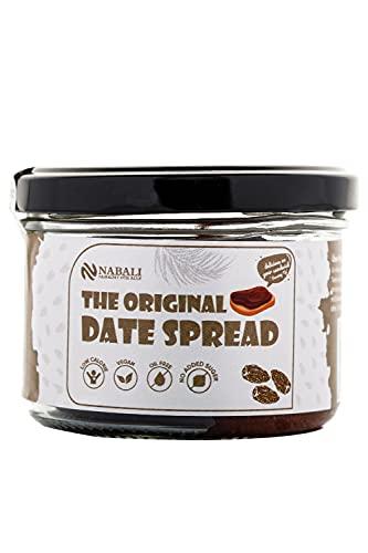 NABALI FAIRKOST The Original Date Spread Pâte à tartiner à 100% aux dattes de Sukkari I vegan et sans lactose I commerce équitable I sans artifices ni huile de palme I 200g