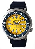 SEIKO PROSPEX'Blue Butterfly Fish' Limited 2200pcs Diver's 200M Yellow Dial Watch SRPD15K1