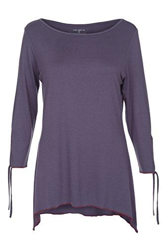 Yogamasti Lounge Yogi Comfort - Camiseta de Yoga para Mujer (Talla S/M)