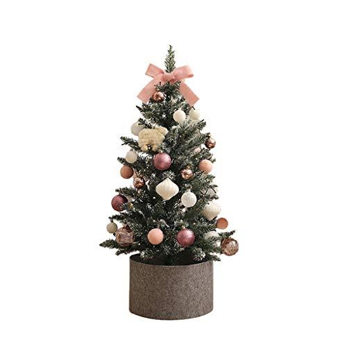 CAIM & Christmas Tree Mini Árboles de Navidad Decorado Árboles de Navidad,...