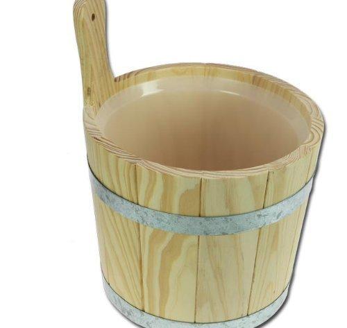 SAUNA Aufgußkübel + Kunststoffeinsatz Saunakübel Modell ELECSA 9250