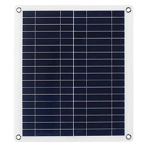 Sistema de Carga rápida del Panel fotovoltaico de la energía de Sunpower del Panel de la energía Solar 25w