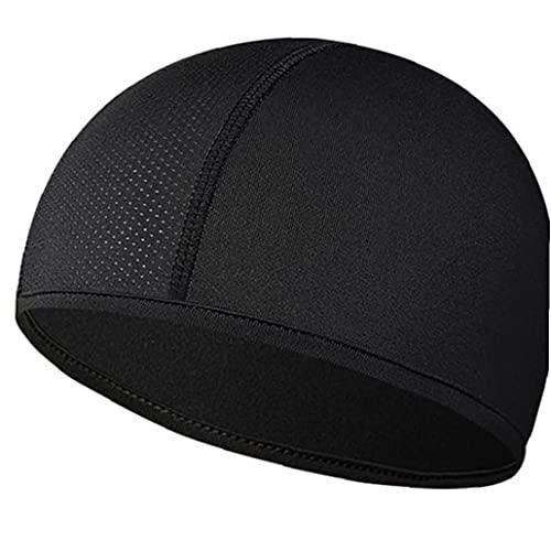 TOSSPER 1 Stück Helm Liner Schädelkappen Unter Helmen Schwitzen Wicking Cap Laufhüte Radkappen Für Männer Frauen