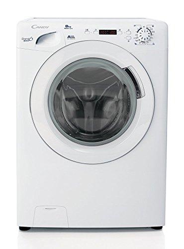 Candy GS 1282D3/1-S Libera installazione Carica frontale 8kg 1200Giri/min A+++ Bianco lavatrice