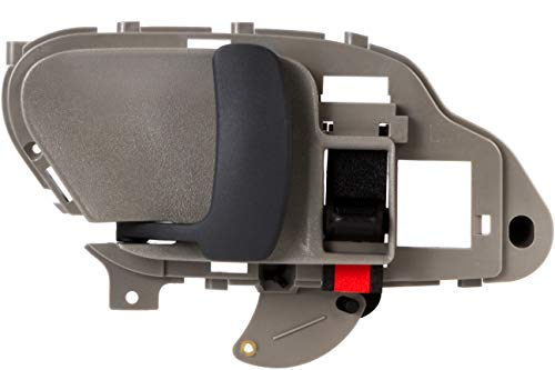 BOXI Gray Interior Front Or Rear Left Side (Driver Side) Door Handle for Chevrolet GMC 2002-1995 15708043