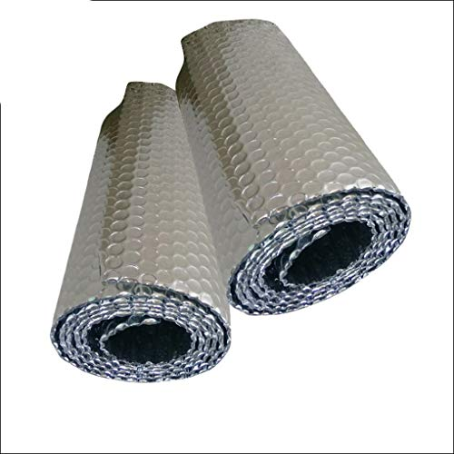 Save Energy Foil Insulation Double Aluminium Bubble Radiator Insulation Foil For Loft Floor Wall Motorhome Boat Shed Warm Up Or Keep Cool Room Self-adhesive Garage Insulation Kit Heat Reflective