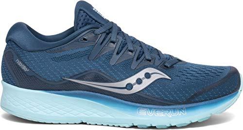 mejores Zapatillas de triatlón para mujer Saucony Ride Iso 2 - Zapatillas de running para mujer, color, talla 38.5 EU
