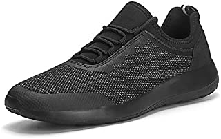 Men's Walking Shoes Lightweight Breathable Mesh Running Sneakers Non-Slip Tennis Gym Road...