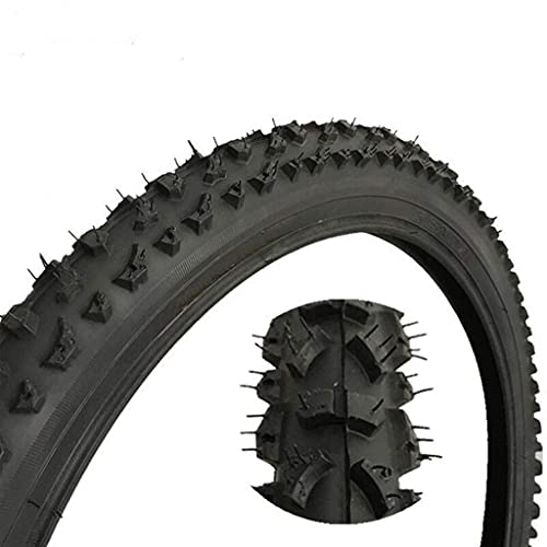HAOKAN Neumático de bicicleta de 20 pulgadas 20 pulgadas 20 x 1.95 2.125 BMX Neumáticos para bicicleta de montaña MTB Neumáticos de ciclismo tubo interior (tamaño: 20 x 1.95)