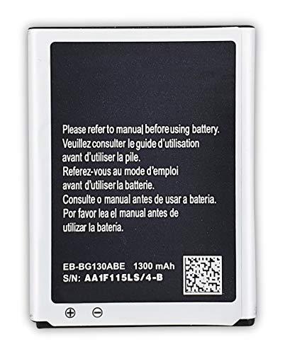Bateria Compatible con Samsung Galaxy Young 2 /Galaxy Star 2 Duos/Young 2 Duos/SM-G130/G130H/Duos| EB-BG130ABE|EB-BG130BBE