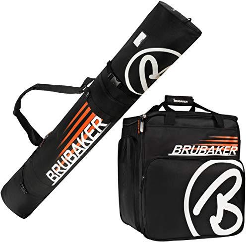 BRUBAKER Conjunto 'Super Champion' Bolsa para botas y Casco de ski junto a...