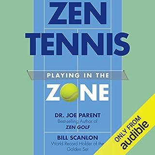 Zen Tennis audiobook cover art