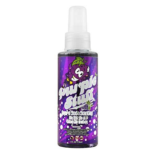 Chemical Guys AIR_222_04 Premium Air Freshener and Odor Eliminator with Purple Stuff Grape Soda Scent (4 oz)