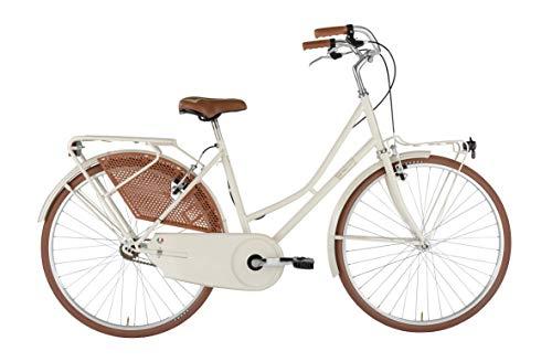 Alpina Bike Olanda, Bicicletta Donna, Crema, 26'