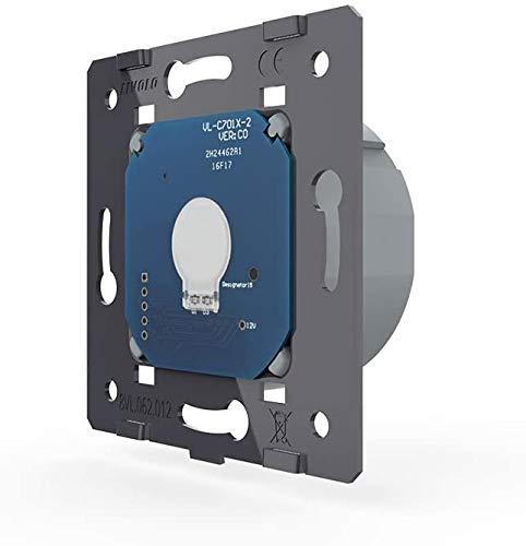 Livolo interrupteur de série et prise de courant glasrahmen vl-c702//c7c1eu-11-a Blanc