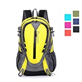 Daxvens Day Hiking Backpack with Chest Wasit Strap Small Lightweight Daypack