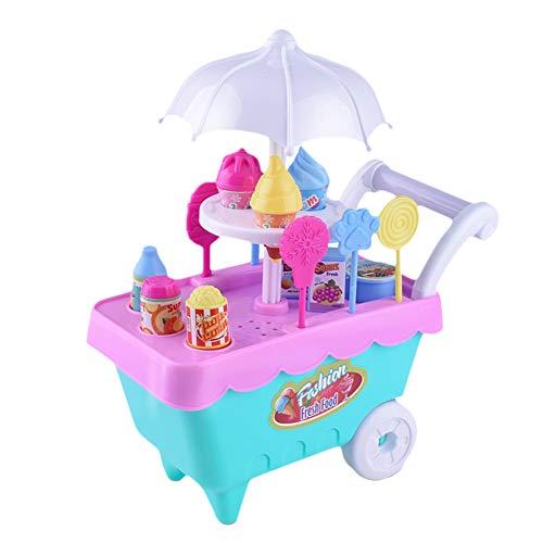 Conveniente para la recolección, puede recoger todos los accesorios en el carrito, en caso de que falten los accesorios. Promover la interacción entre padres e hijos, es bueno para estimular la imaginación y la capacidad de pensamiento del niño. Cont...