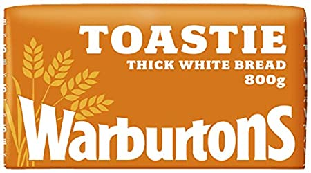 Warburtons Toastie White Bread, 800g