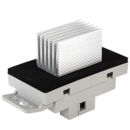 AC Heater Blower Control Motor Resistor with Harness Compatible with 2003-2006 Chevy GMC Yukon XL Isuzu 05-06 Buick Saab 9-7x 89018778 89019351 19260762 93803636