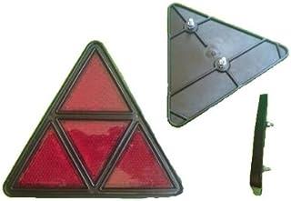 FKAnhängerteile 2X Dreieckrückstrahler   Reflektor Dreieck Rückstrahler