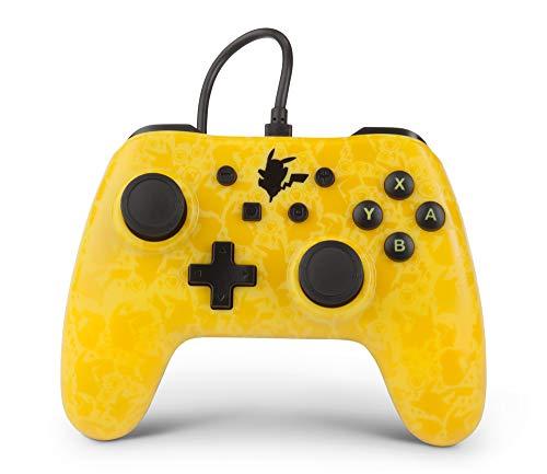 PowerA Comando com fios Pokemon Pikachu Amarelo/Preto Nintendo Switch