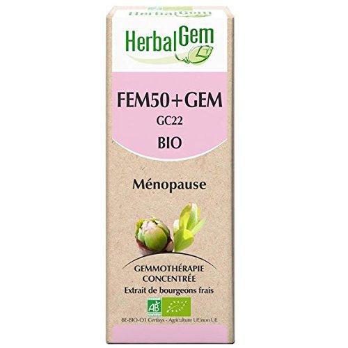 Herbalgem Fem50+gem complexe femme 50+ 50ml (Bio)