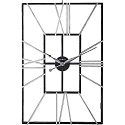 Howard Miller Park Slope Wall Clock 625-593 – Oversized Wrought-Iron with Quartz Movement