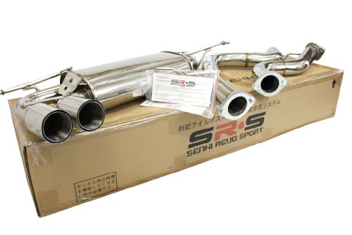 SRS catback exhaust system for 06-08 VW Golf V GTI MK5