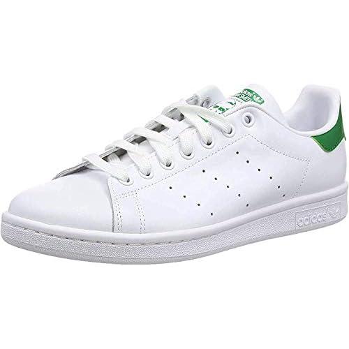 adidas Stan Smith, Scarpe da Ginnastica Basse Uomo, Bianco (White M20324), 42 EU