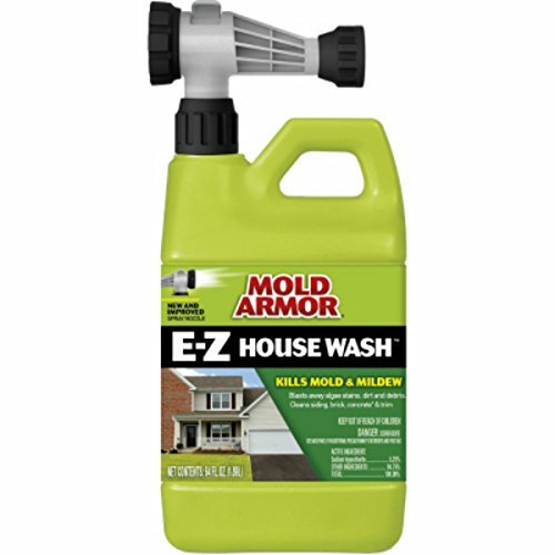 Mold Armor FG51164 E-Z House Wash, Hose End Sprayer, 64-Ounce