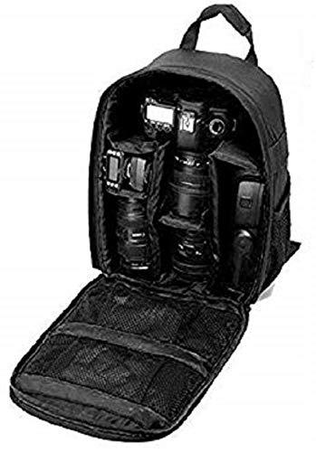 AMPLE ITALIA DSLR SLR Backpack Camera Bag | Camera Lens Shoulder Backpack Case for Canon Nikon | Lens Accessories Carry Backpack Case