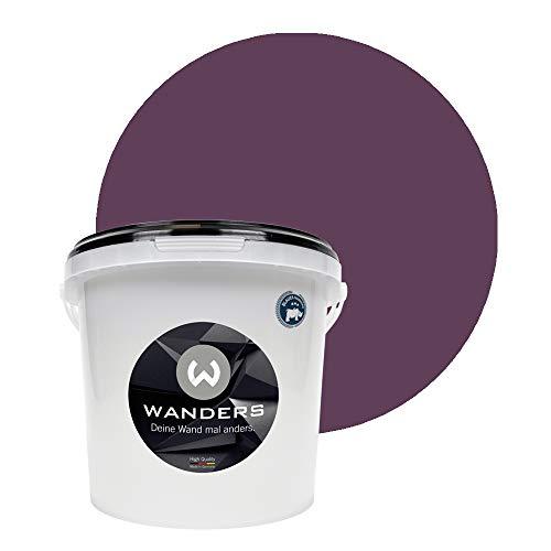 Wanders24 Tafelfarbe (3Liter, Violett) matte Wandfarbe in 20 Farbtönen erhältlich, individuelle Gestaltung für Zuhause, Farbe made in Germany