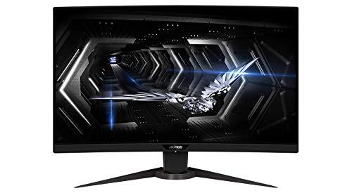 AORUS CV27Q 27' 165Hz 1440P 1500R FreeSync Gaming Monitor,...